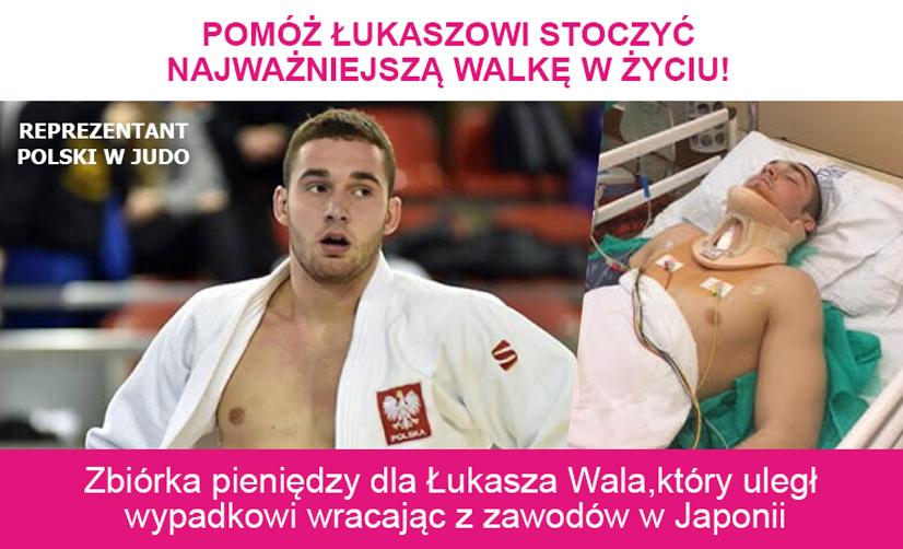 Łukasz Wala wypadek